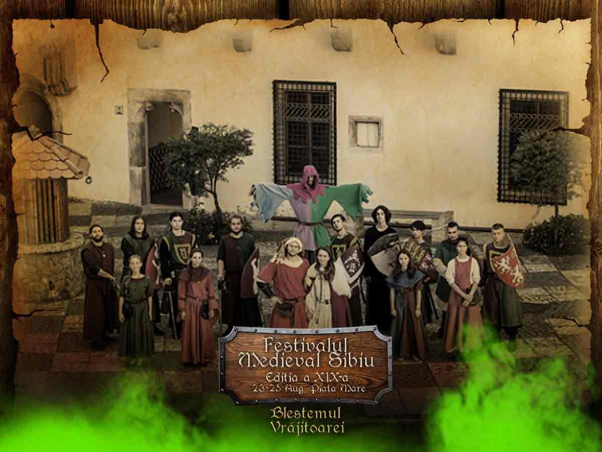 """Peste trei sute de artiști vin la Sibiu la Festivalul Medieval """"Cetăți Transilvane"""""""